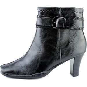A2 By Aerosoles Cinch Of Luck Black Ankle Boots